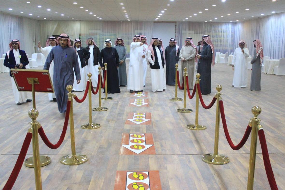 مرشحي الغرفة يزورون المقر الانتخابي قبل انطلاق الانتخابات