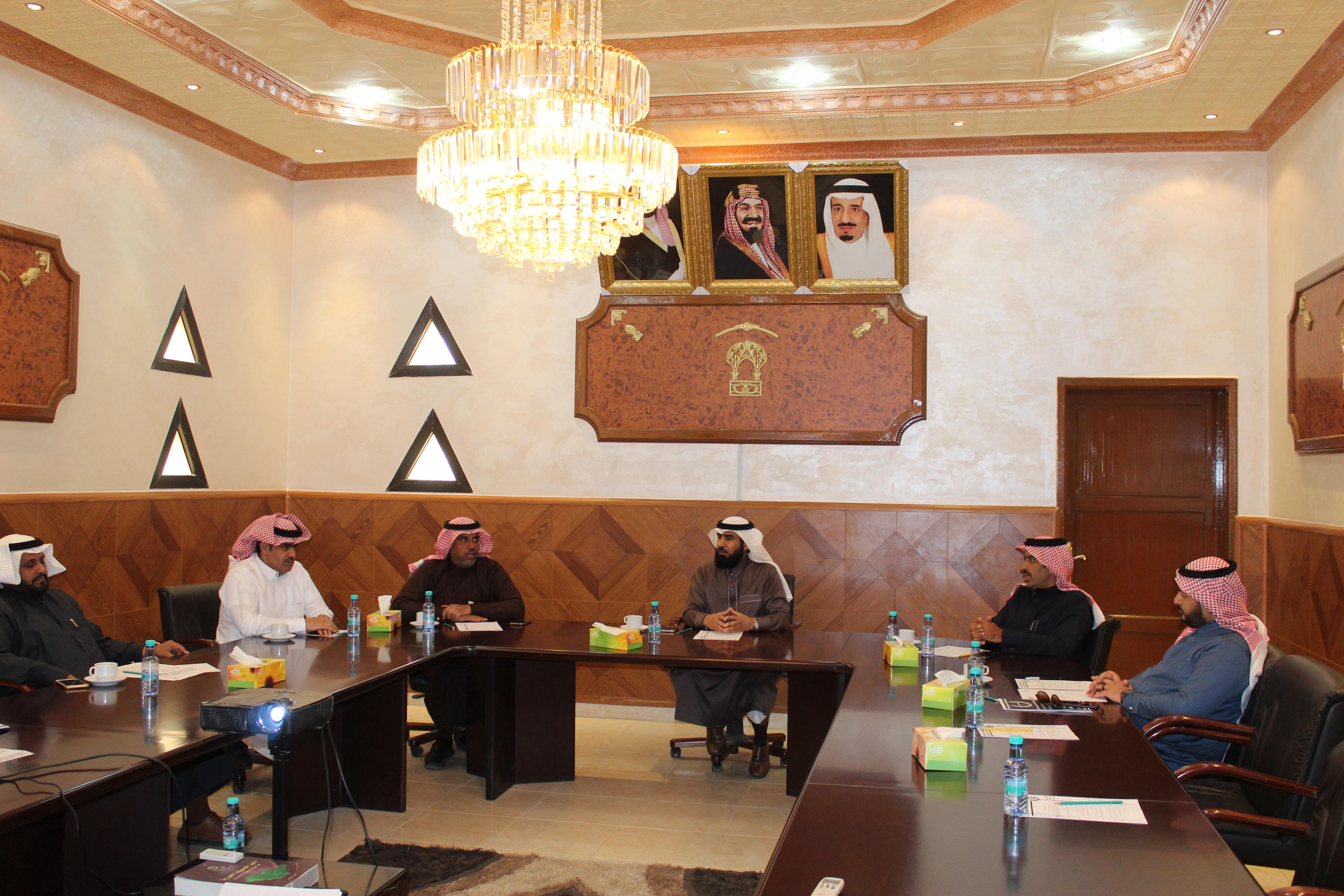 اجتماع مجلس إدارة الغرفة التجارية الصناعية بالقريات السادس عشر